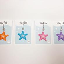 starfish ピアス(イヤリング交換可能)(片耳)