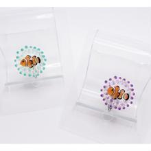 カクレクマノミイヤリング(片耳)