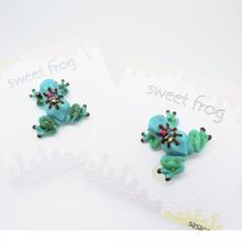 sweetfrogピアス/イヤリング チョコミント(ミント)