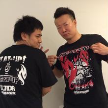 【Tシャツ】HEAT-UP×ルタドール【ラスト1枚】