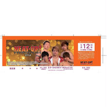 【HEAT-UP】5.12 王子大会前売りチケット【指定席】