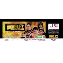 【GOING-UP】11.18王子大会前売りチケット【指定席】