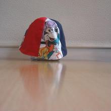 リメイクリバーシブル6P帽子(S)