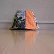 リメイクリバーシブル6p帽子(L)