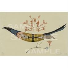 ジークレー版画 鳥の連作No.5(pl_4379)