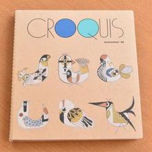 クロッキーブック 鳥の連作No.13(pl_5004)