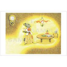 ポストカード 『おやゆびひめ』ネズミ(pl_26003)