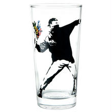 "TUMBLER GLASS ""FLOWER BOMBER"""