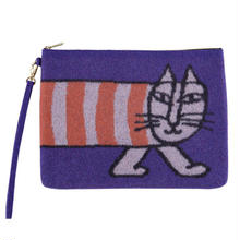 Wool Clutch Bag MIKEY