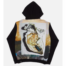 MONEY & OYSTER HOODED SWEATSHIRT artwork by ITSUMI MAX
