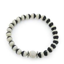 Dzi Beads Anklet