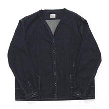Denim Shirt Cardigan