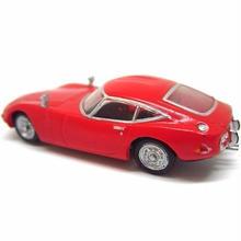 10.トヨタ2000GT MF10前期型(1967年)色違いシークレット  (人形欠品)