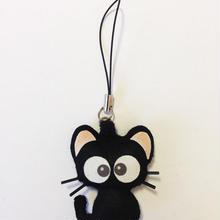 黒猫りっちー君ストラップ