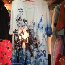 アニメ総柄BIGTシャツ/original