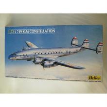 【中古】【未組立】 1/72  Heller  L 749 KLM CONSTELLATION  183-86SK