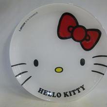 【未使用】 ハローキティ ガラス パーティ プレート ローソン サンリオ キャラクターズ フェア HELLO KITTY 1710-198SK