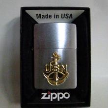 【中古】 Zippo  USN アンカーエンブレム  アメリカ海軍  ジッポー  183-209SK