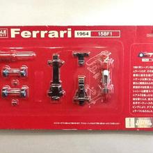 【中古】DYDO ダイドー 1/64 スケール ミニカーキット Ferrari フェラーリ 1964 158F1 ss1803-172