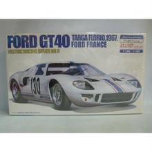【新品】 フジミ 1/24 ヒストリックレーシングシリーズ フォードGT40 タルガフローリオ1967 フォードフランス (カルトグラフ製デカール)  183-117SK