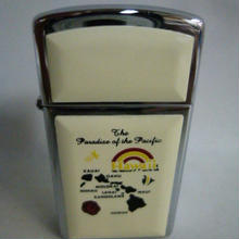 【未使用】 Zippo HAWAII The Pardise of the Pacific ジッポー ハワイ 183-24SK