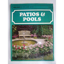 【中古】【代引不可】PATIOS & POOLS Paul Hamlyn IDEAL HOME BETTER LIVING BOOK 1711-21SK