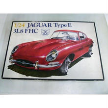 【中古】【未組立】 Heller  1/24  JAGUAR Type E  3L8 FHC   182-333SK