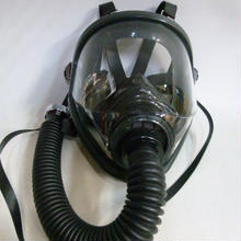 【中古】 重松製作所 防毒マスク 隔離式 CS面体のみ  吸収缶なし  183-74SK