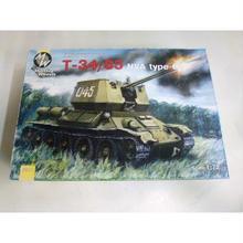【中古】【未組立】 ミリタリーホイール 1/72 ソ連- T-34/85 NVA type 63