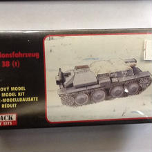 【新品】1/38 Munitionsfahrzeug 38(t) ss1801-27