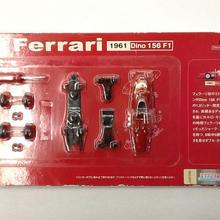 【中古】DYDO ダイドー 1/64 スケール ミニカーキット Ferrari フェラーリ 1961 Dino 156 F1 ss1803-159