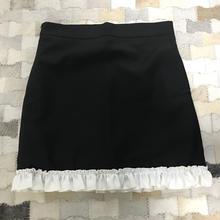 半額❣️白ふりふりスカート
