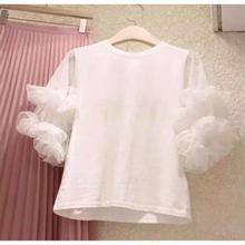新入荷❣️レースお袖Tシャツ