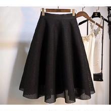 メッシュスカート 黒