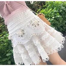 お花レーススカート