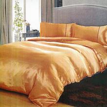シルクタッチのダブル用光沢サテン布団,敷,枕カバー4点セット01