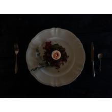 フランス製 サルグミンヌ 花リム平皿(大)