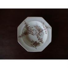 1769年代 イギリス製 オクトゴナル・プレート皿(B)