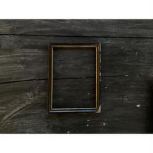 フランス製 黒い木製フレーム(大)