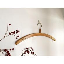 ドイツ製  デッドストック 木製ハンガー