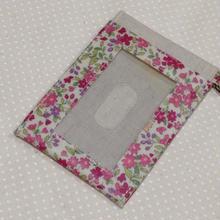 パスケース*ピンク小花柄