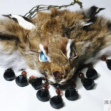 オオヤマネコのネックレス