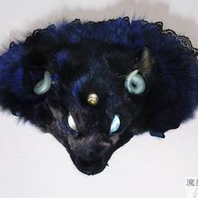 魔獣ヘッドドレス(ダークブルー)
