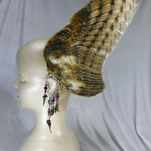 フクロウの翼イヤーフック