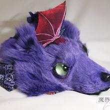 けもドラヘッドドレス(紫)