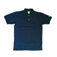 BURNING BANK POLO(NAVY)