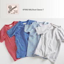 ◆新柄ボーダー◆KP9901MS / Short Sleeve T / Cut & Sewn