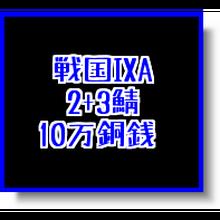 戦国ixa  2+3鯖  10万銅銭(1枚あたりの入札上限額あり)