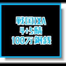 戦国ixa  4+5鯖  100万銅銭(1枚あたりの入札上限額あり)