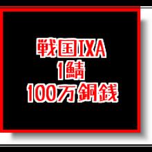 戦国ixa  1鯖  100万銅銭(1枚あたりの入札上限額あり)